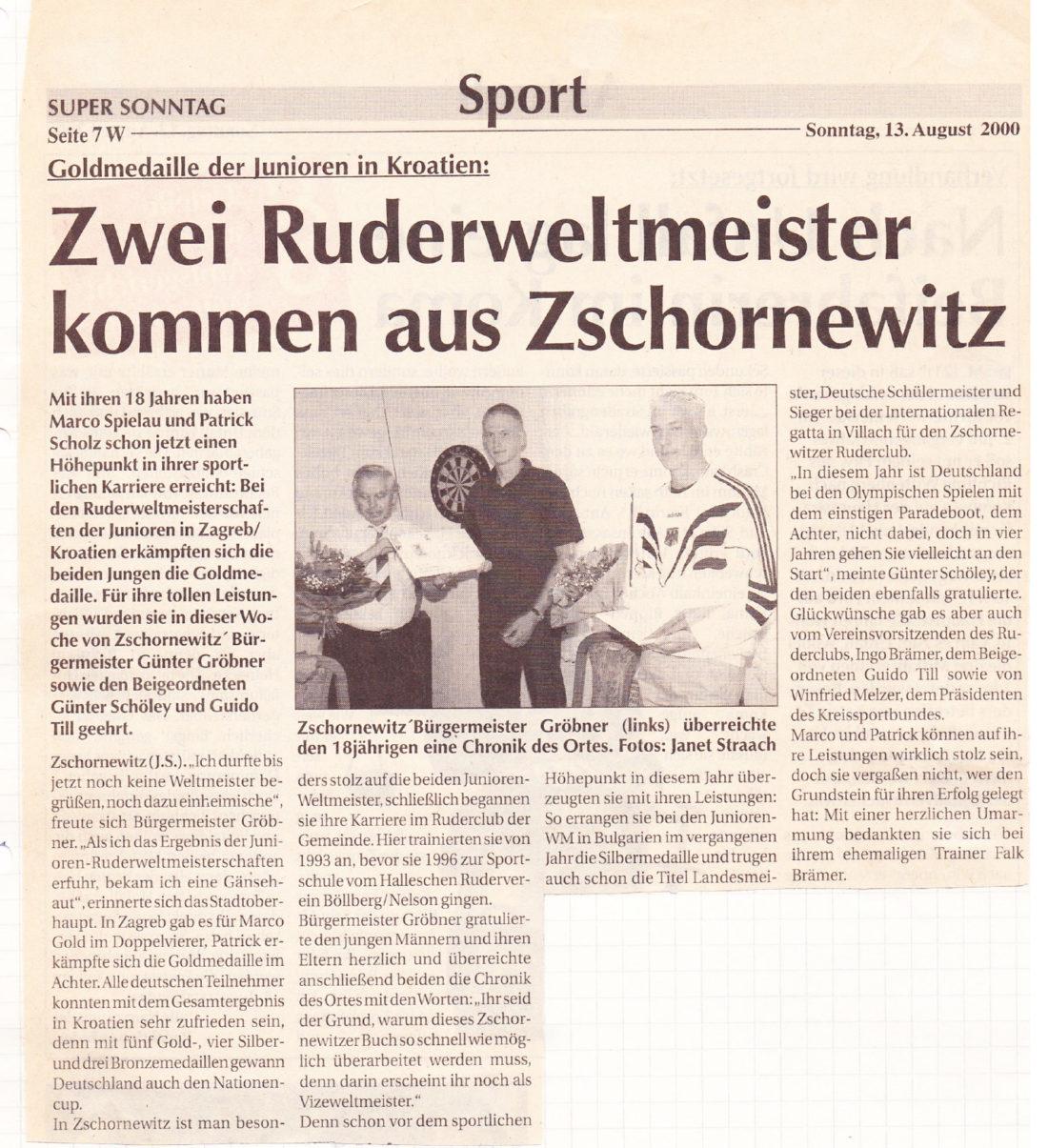 Marco Spielau - 2000-goldmedaille-Juniore-Kroatien