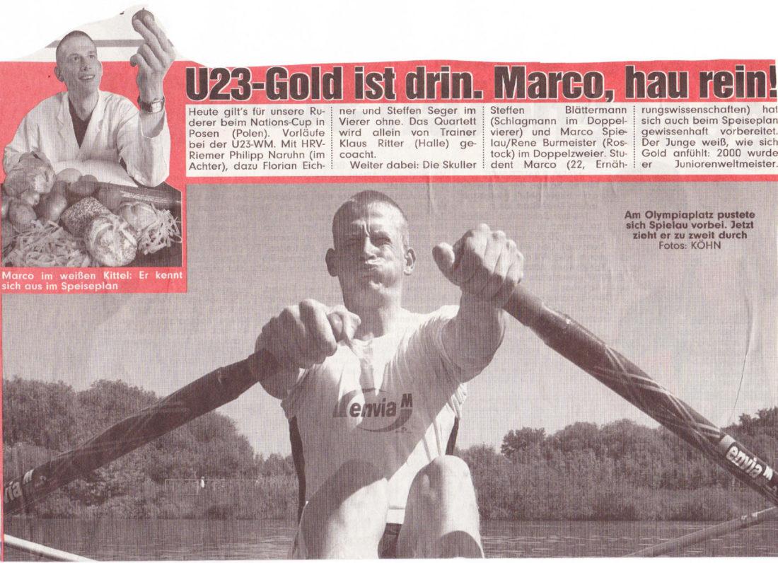 Marco Spielau - 2004-06-08-Bild-u23Gold