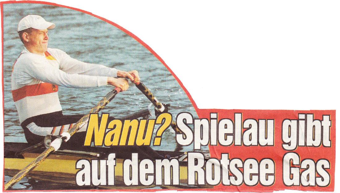 Marco Spielau - Bild: Nanu? Spielau gib auf dem Rotsee Gas