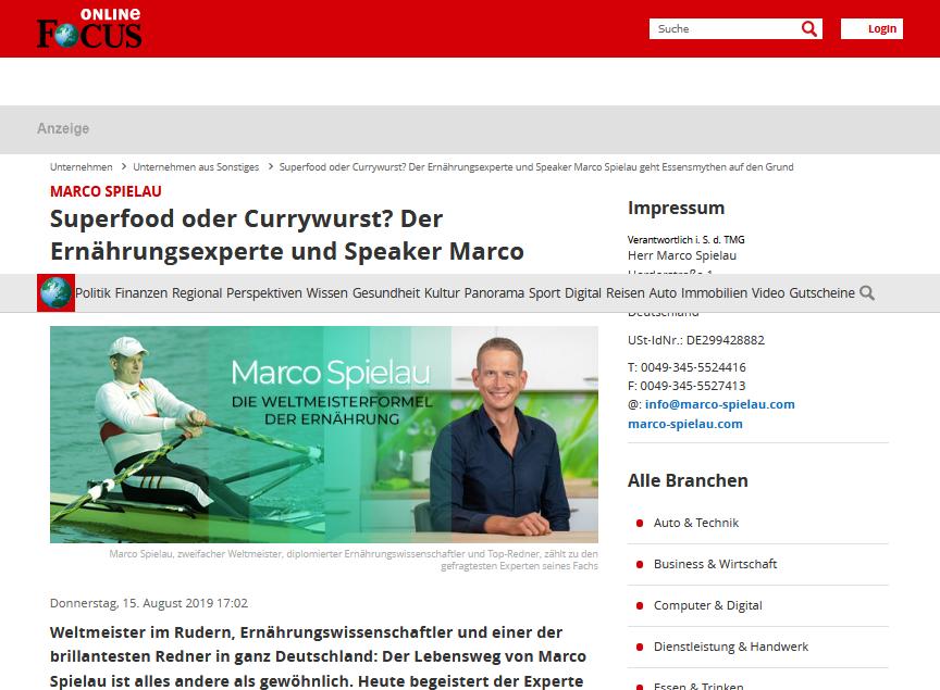 Marco Spielau - FOCUS de
